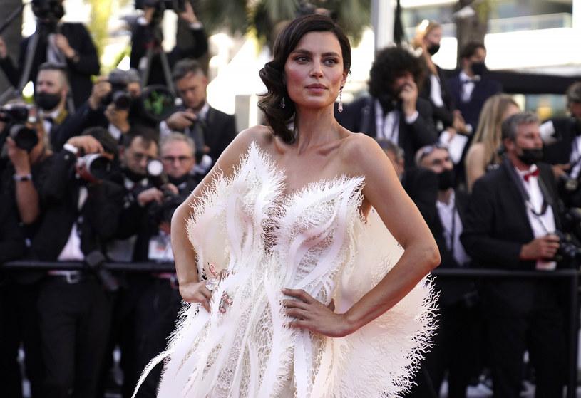 Catrinel Marlon w Cannes /AP/Associated Press /East News