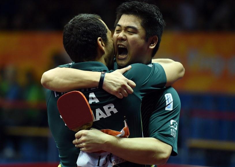 Cazuo Matsumoto i Thiago Monteiro /AFP