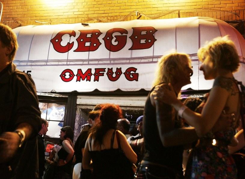 CBGB był prawdziwą wylęgarnią muzycznych talentów /Getty Images/Flash Press Media