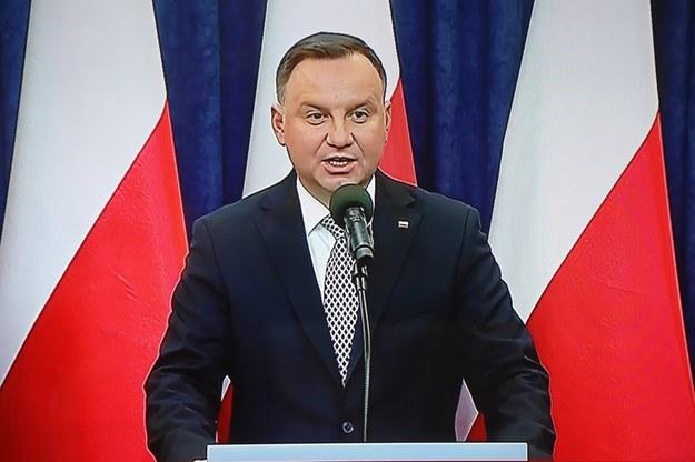 CBOS: Duda może liczyć na poparcie 52 proc. badanych /Wojciech Olkuśnik /PAP