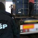 CBŚP zapobiegło ogromnemu przemytowi haszyszu. Narkotyki płynęły do Gdyni w kartonach z pościelą