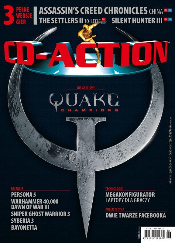 CD-Action 06/2017 – okładka /CD Action