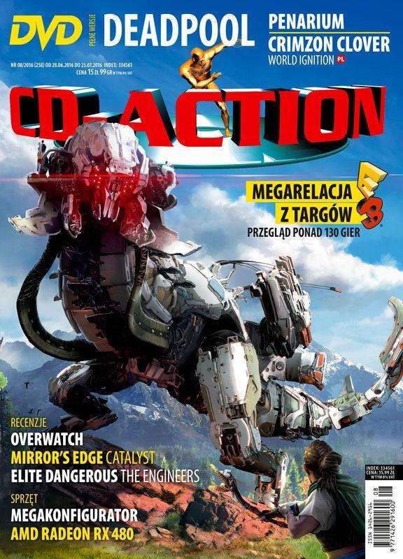 CD-Action 08/2016 /materiały prasowe
