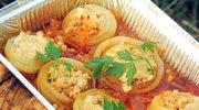 Cebula faszerowana z sosem