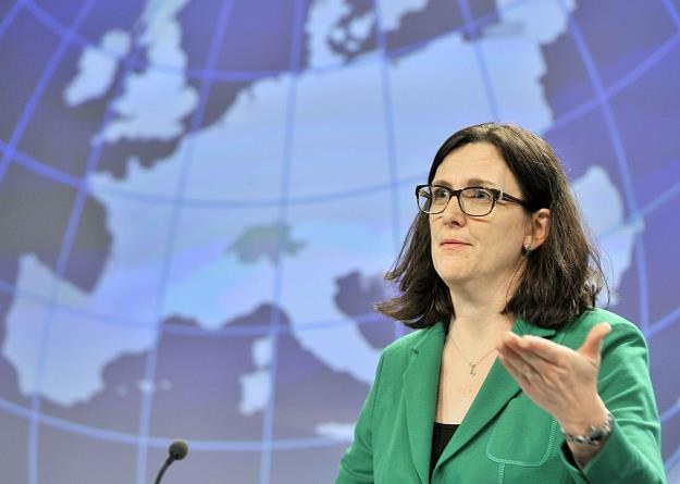 Cecilia Malmstroem, komisarz UE ds. handlu /AFP
