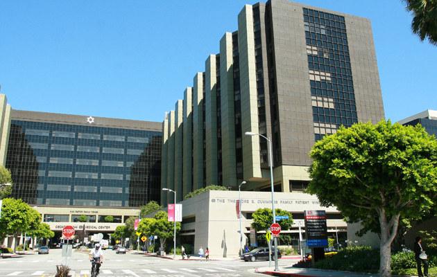 Cedars-Sinai Medical Center w Los Angeles  /Splashnews