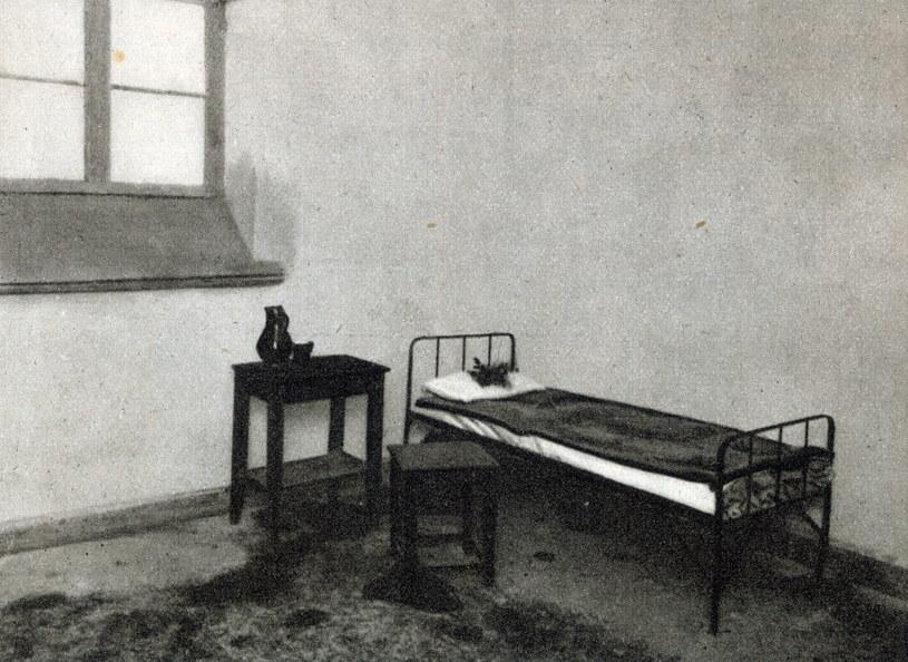 Cela nr. 31 w Pawilonie X cytadeli warszawskiej w ktorej Pilsudski symulowal obled i na krotko wydostal sie z wiezienia do szpitala w Petersburgu. /Agencja FORUM