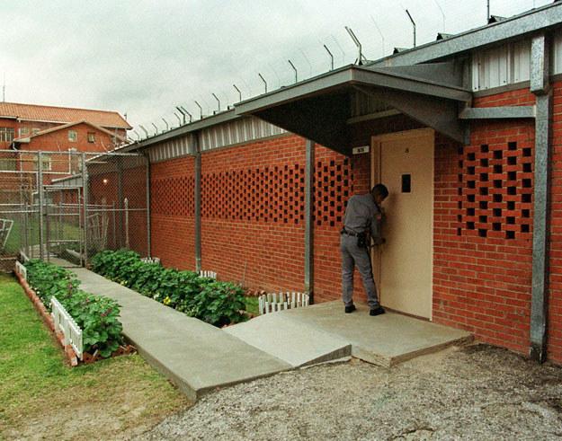 Cela śmierci w więzieniu w Huntsville fot. Paul Buck /AFP