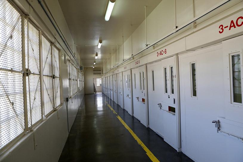 Cele śmierci w niesławnym amerykańskim więzieniu San Quentin w Kalifornii /JUSTIN SULLIVAN / GETTY IMAGES NORTH AMERICA /AFP