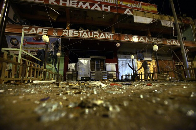 Celem jednego z zamachów była kawiarnia w Faludży /MOHAMMED JALIL /PAP/EPA