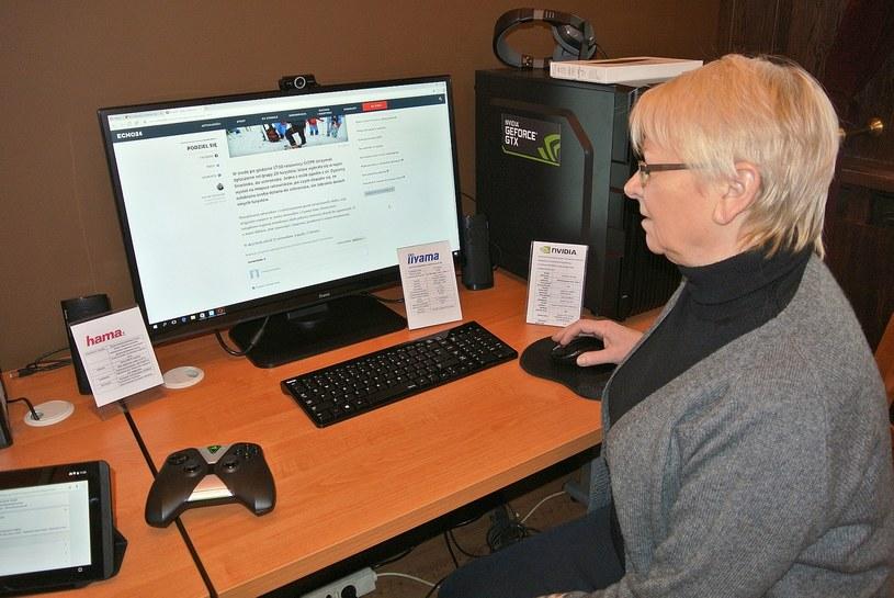 Celem szkoleń jest oswojenie starszych pokoleń z możliwościami, jakie oferuje internet /materiały prasowe