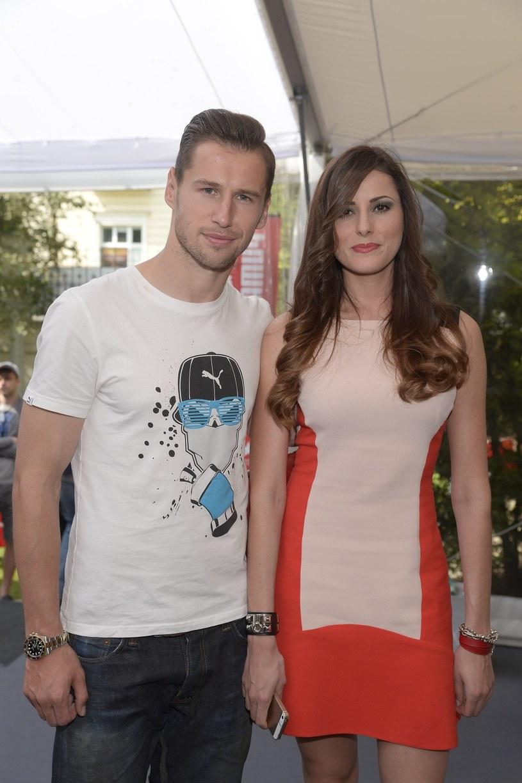 Celi Jaunat i  Grzegorz Krychowiak /East News