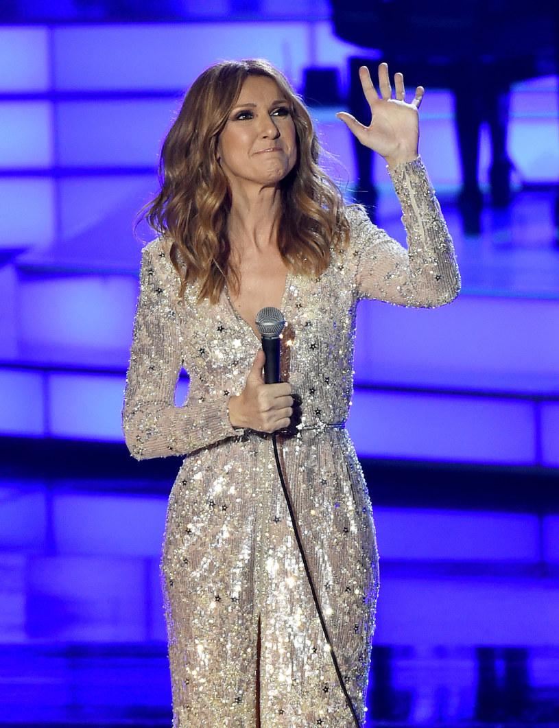 Celine Dion była bardzo wzruszona podczas koncertu w Las Vegas /Ethan Miller /Getty Images