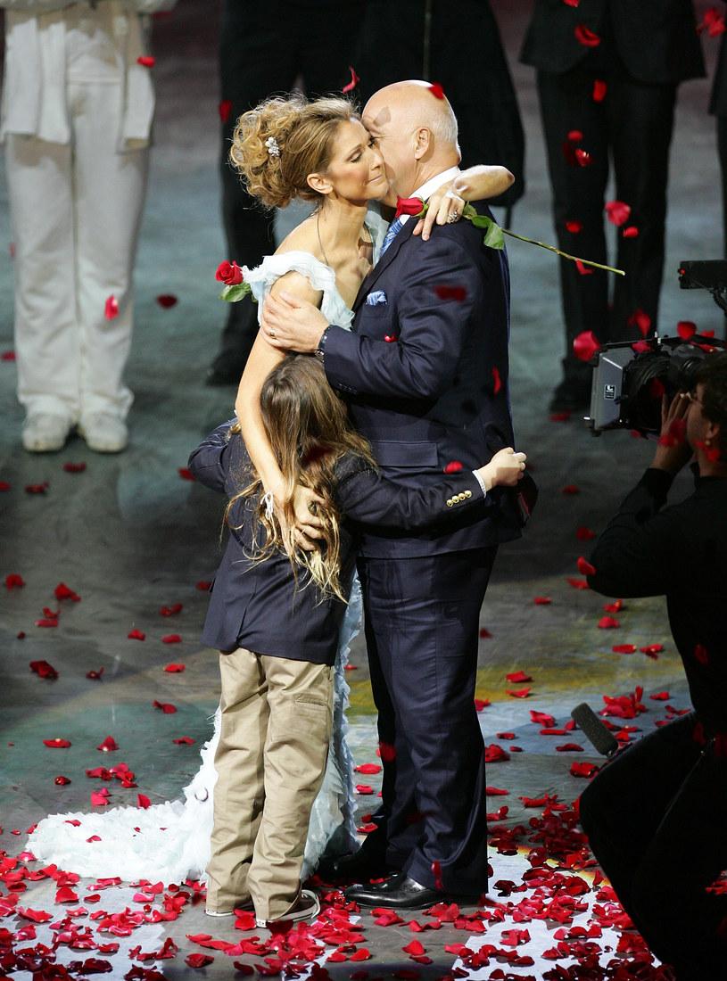 Celine Dion i Rene Angelil /Ethan Miller /Getty Images