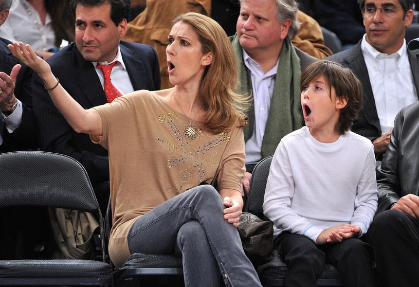 Céline Dion i René-Charles Angélil w grudniu 2009 r. /James Devaney/WireImage /Getty Images