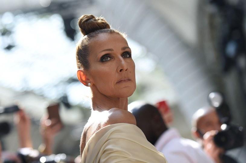 Celine Dion jest gwiazdą każdego tygodnia mody odbywającego się w Paryżu /Lucas Barioulet  /AFP/East News