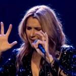 Celine Dion na pierwszym koncercie po śmierci męża! Popłakała się!