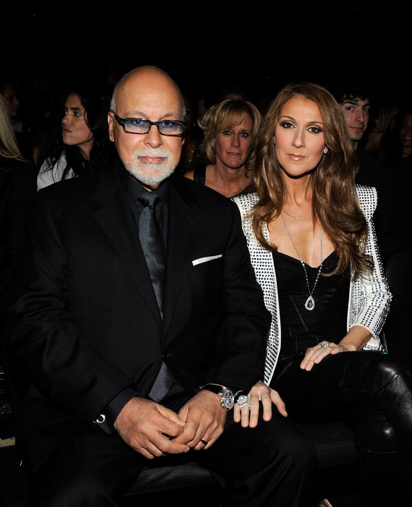 Celine Dion z mężem /Larry Busacca /Getty Images