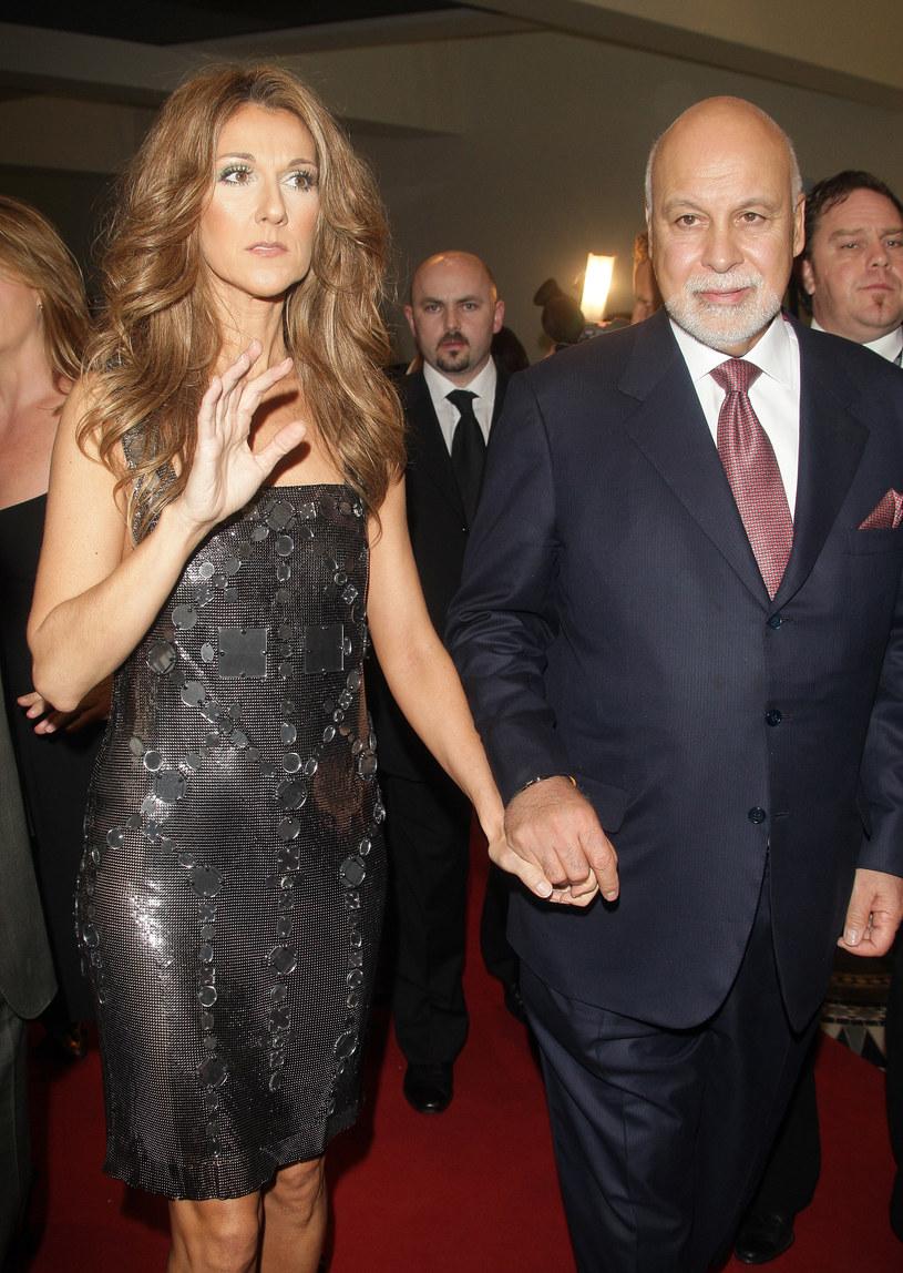 Celine Dion z mężem /Pascal Le Segretain /Getty Images