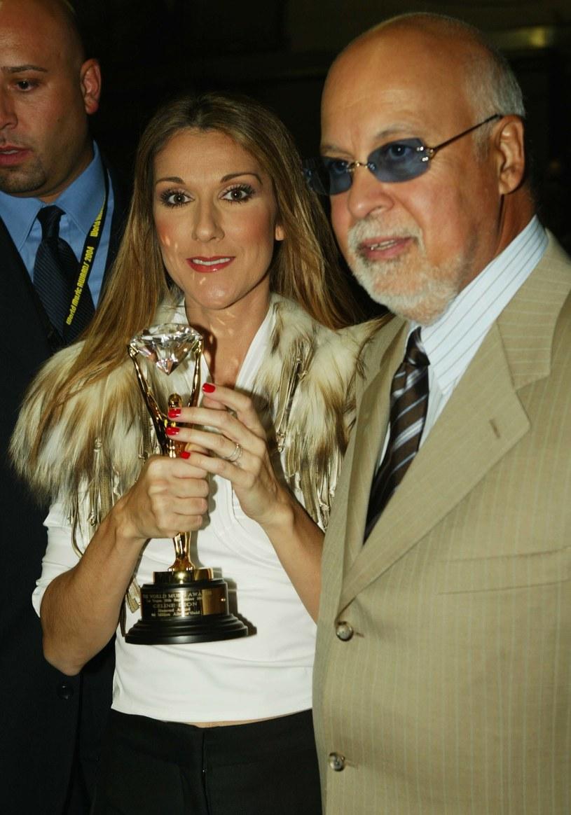 Celine Dion z mężem /Kevin Winter /Getty Images