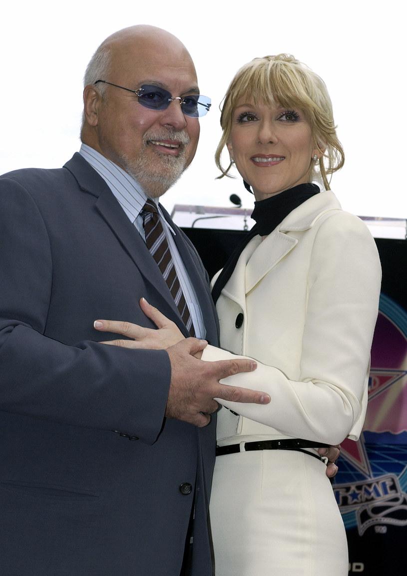 Celine Dion z mężem /Vince Bucci /Getty Images