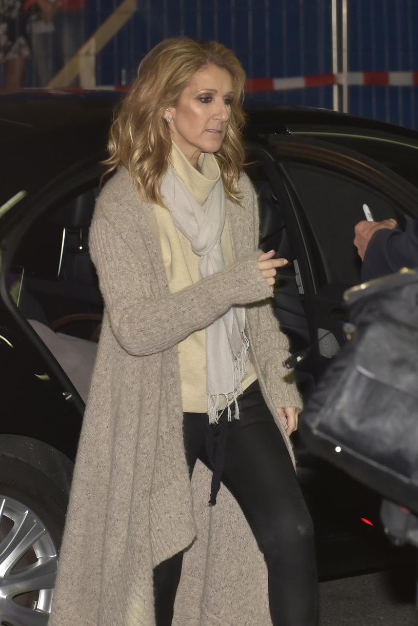 Celine Dion /Defrance / Splash News /East News