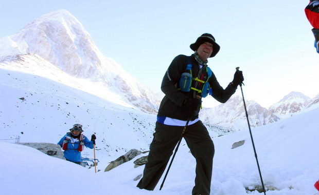 Celiński z Everest Marathon: W śniegu straciłem wiele energii