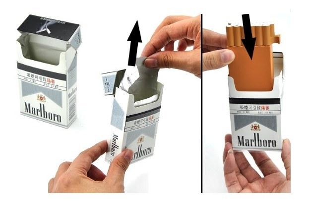 Cell Phone Jammer został zaprojektowany tak, aby imitował paczkę papierosów /Gadżetomania.pl