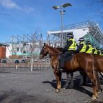 Celtic Glasgow - Rangers FC 1-1 Old Firm derby pod nadzorem policji