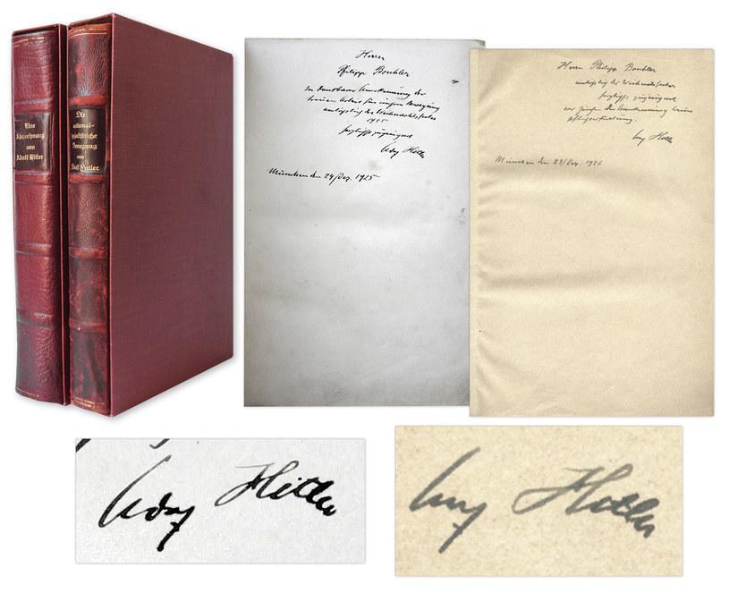 Cena wywoławcza za dwa tomy dzieła Hitlera wynosi 35 tys. dolarów /natedsanders.com /INTERIA.PL
