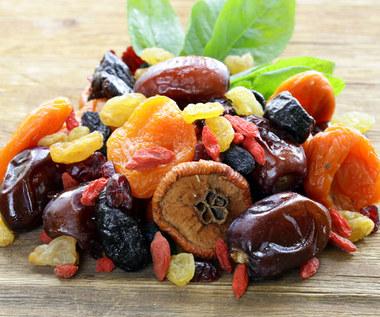 Cenne właściwości suszonych owoców