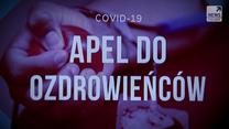 """Cenny lek na koronawirusa. O problemach z osoczem ozdrowieńców w """"Raporcie"""" Polsat News o 20:50"""