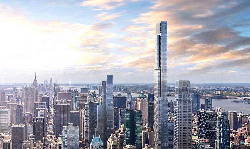 W Nowym Jorku Powstaje Najwyższy Budynek Mieszkalny Na