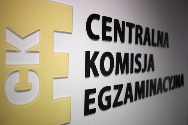 Centralna Komisja Egzaminacyjna / Tomasz Gzell    /PAP