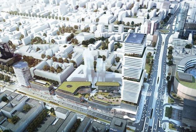 Centralna Park (projekt) /Rynek Kolejowy