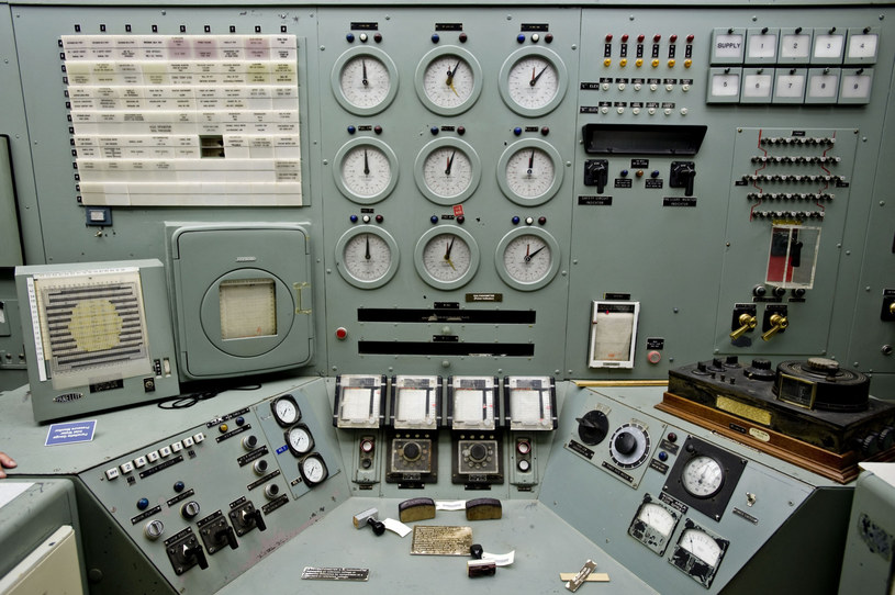 Centralny panel sterowania reaktorem B w Hanford /East News