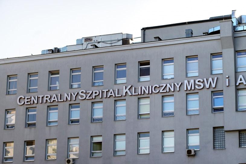 Centralny Szpital Kliniczny Ministerstwa Spraw Wewnętrznych i Administracji w Warszawie /Wojtek Laski /East News