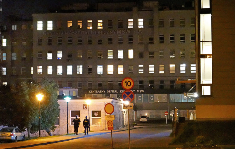Centralny Szpital Kliniczny MSWiA /Wojtek Laski /East News