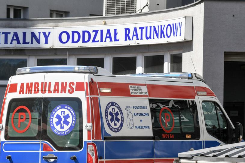Centralny Szpital Kliniczny MSWiA /Jacek Dominski/REPORTER /Reporter