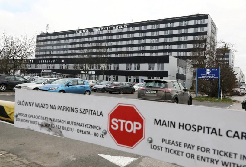 Centralny Szpital Kliniczny przy ul. Banacha w Warszawie /Piotr Molecki /East News