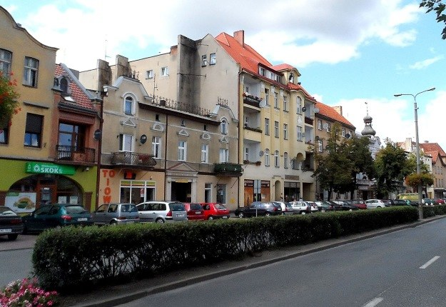 Centrum Mogilna, jednego z najstarszych miast w Polsce /Leszek Adamczewski /Odkrywca