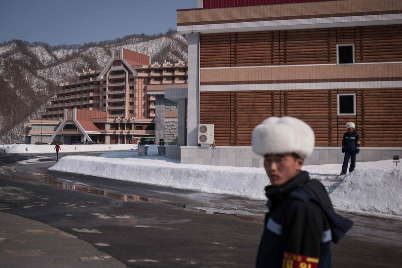 Centrum narciarskie Masikriong w Korei Północnej /AFP