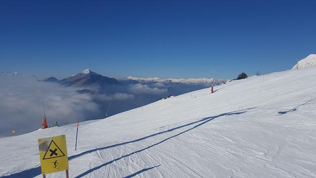 Centrum narciarskie w Słowenii, niedaleko Lublany - Krvavec, fot. Bartosz Bednarz /INTERIA.PL