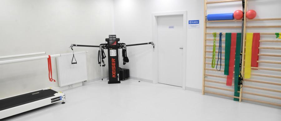 """Centrum rehabilitacji dla osób po amputacjach i z niepełnosprawnością ruchową """"Znowu w Biegu"""" /Jacek Bednarczyk   /PAP"""