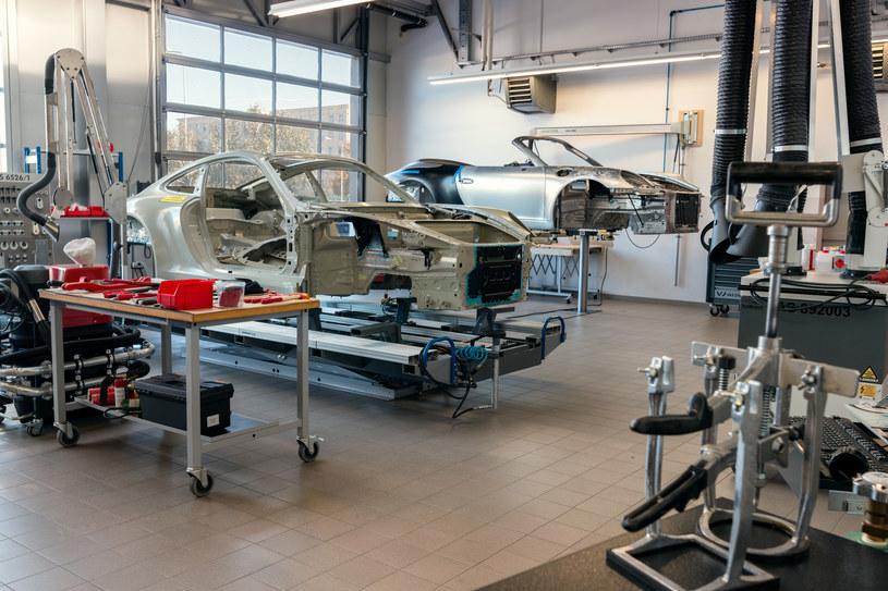 Centrum szkolenia blacharzy Porsche /