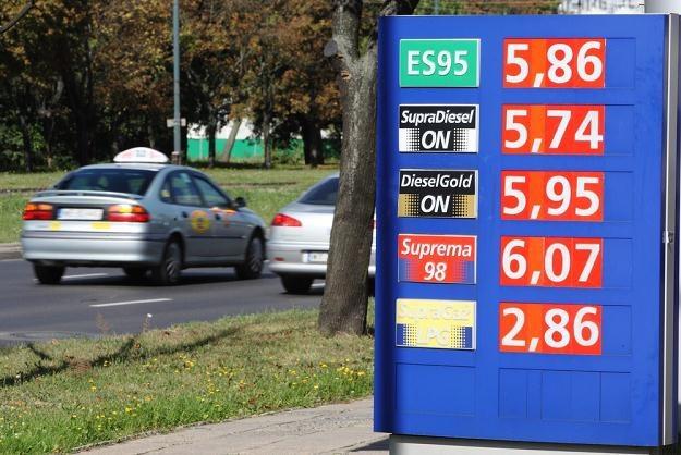 Ceny diesla dogonią ceny benzyny / Fot: Stanisław Kowalczuk /East News