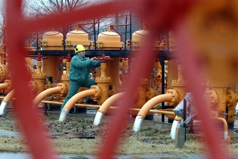 Ceny gazu podbijają inne ceny /AFP