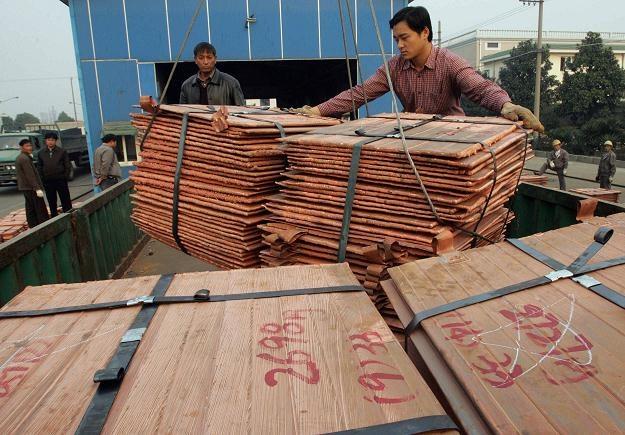 Ceny miedzi dyskontują wzrost gospodarczy w Chinach na poziomie 8,6 proc. r/r /AFP