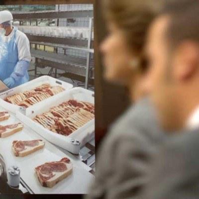 Ceny mięsa na niższym poziomie niż w UE /AFP