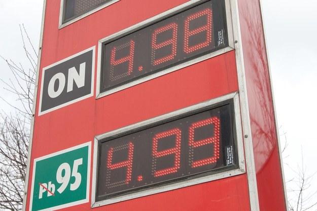 Ceny paliw w marcu 2011 /Fot. Maciej Goclon  /East News